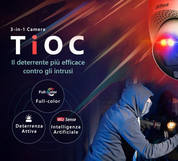 TiOC Dahua Technology – 3 in una