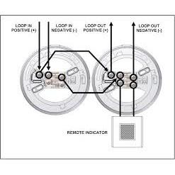 sensore ottico di fumo indiriizzato